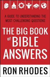 The Big Book of Bible Answers: A Guide to Understanding the Most Challenging Questions - Slightly Imperfect