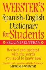 Webster's Spanish-English Student Dictionary Edition 2