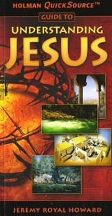 Holman QuickSource Guide to Understanding Jesus - Slightly Imperfect