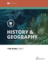 Lifepac History & Geography Grade 11 Unit 7: The Search For Peace