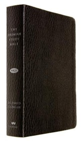 NKJV The Jeremiah Study Bible, Soft leather-look, Black (indexed)  - Imperfectly Imprinted Bibles