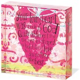 Your Loving Heart Tabletop Plaque