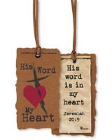 His Word My Heart Bookmark