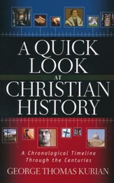 A Quick Look at Christian History: A Chronological Timeline Through the Centuries - Slightly Imperfect