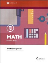 Lifepac Math Grade 3 Unit 1
