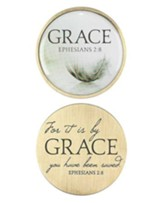 For It Is By Grace Pocket Stone, Ephesians 2:8