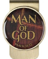 Man of God Money Clip
