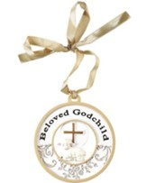 Beloved Godchild Ornament