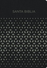 NVI Biblia para Regalos y Premios, negro/plata smil piel, NVI Gift and Award Bible--soft leather-look, black/gray