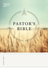 CSB Pastor's Bible - eBook