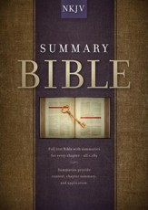 Summary Bible, NKJV Edition - eBook