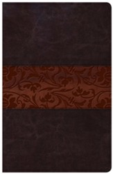 The Study Bible for Women, NKJV Edition--soft leather-look, mahogany
