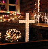 Indoor/Outdoor Lighted Cross