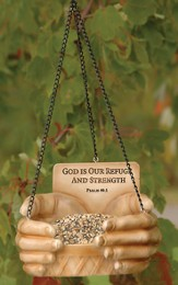 God Is Our Refuge, Birdfeeder