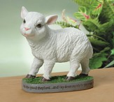 Lamb Figurine, I Am The Good Shepherd