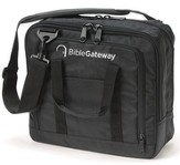 Bible Gateway, Wordkeeper Canvas Briefcase, Black