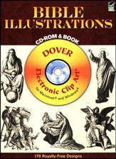Bible Illustrations Book and CDROM