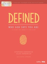 Defined: Who God Says You Are, Younger Kids Activity Pages