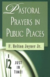 Pastoral Prayers in Public Places