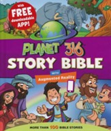 Planet 316 Story Bible with Augmented Reality App