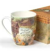 Chickadee Cabin Boxed Mug