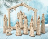 Woodland Nature Nativity Set 9 Pieces
