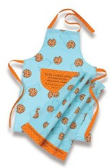 Friends Are the Chocolate Chips--Apron/Towel Set