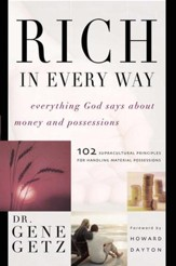 Rich in Every Way: Everything God says about money and posessions - eBook