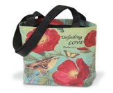 Tote Bag Rose Design - Unfailing Love