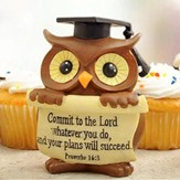 Graduation Owl Figurine
