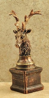 Stag's Head Figurine