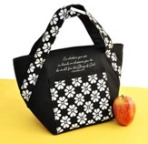 Glory of God, Lunch Tote Bag - Black