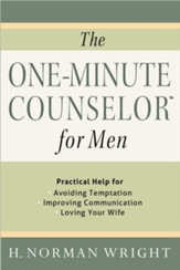 The One-Minute Counselor for Men: Practical Help for Avoiding Temptation, Improving Communication, Loving Your Wife - Slightly Imperfect