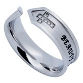 Beauty For Ashes Nexus Women's Ring, Size 9 (Isaiah 61:3)