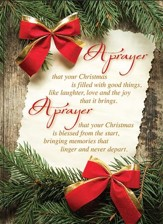 A Prayer For Your Christmas, Box of 12 Cards (KJV)