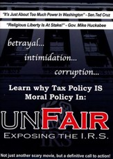 Unfair: Exposing the I.R.S., DVD
