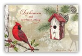 Let Heaven and Nature Sing  , Box of 20 Christmas Cards