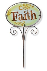 Faith Garden And Plant Stake