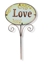 Love, Garden And Plant Stake