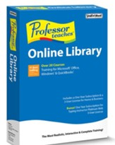 Professor Teaches Online Library CD-ROM