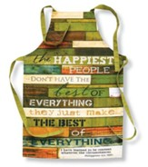 The Happiest People Apron