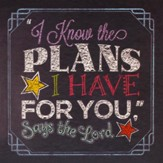 I Know the Plans I Have for You, Says the Lord Gift Book - Slightly Imperfect