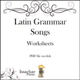 Latin Grammar Songs--Worksheets on CD-ROM