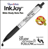 Inkjoy, Bible Study Pen, Black