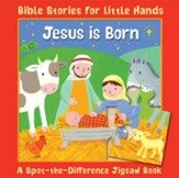 Jesus Is Born: A Spot-the-Difference Jigsaw Book