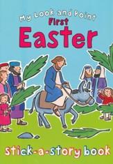 My Look and Point First Easter Stick-a-Story Book - Slightly Imperfect