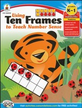 Using Ten Frames to Teach Number Sense Grades Kindergarten to First