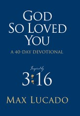 God So Loved You: A 40 Day Devotional, eBook