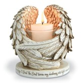 Wings Of Comfort Tealight Holder
