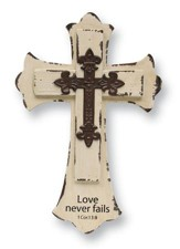 Love Never Fails, Wall Cross